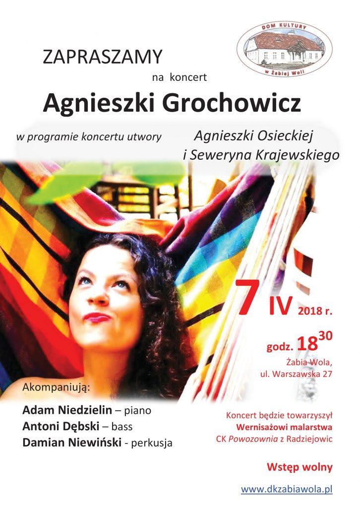 7 kwietnia 2018 r A Grochowicz plakat